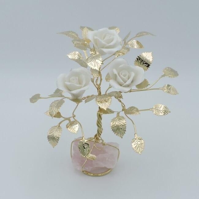 Composizione-rose-oro